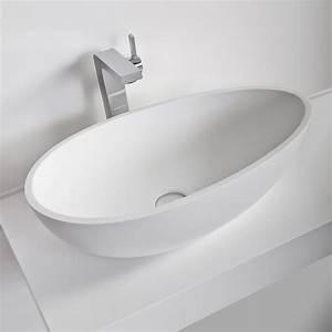 Vasque à Poser Design : vasque salle de bain cocoon thalassor vasque poser en ~ Edinachiropracticcenter.com Idées de Décoration