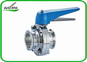 Multiple Position Sanitary Manual Butterfly Valves With