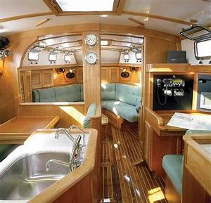 beautiful and comfortable boat interior designs to make With interior decorating ideas for boats
