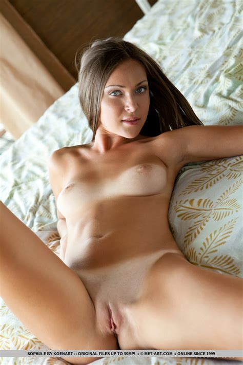 Sophia E Nude In Accentus At Metart Hunter