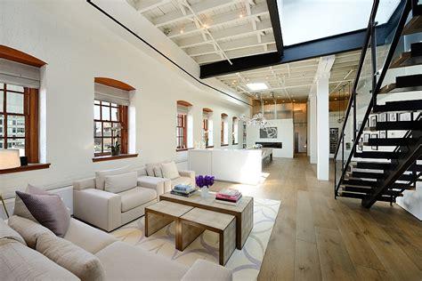 posh penthouse loft blends timeless nyc magic  modern