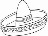 Sombrero Coloring Mexican Drawing Pages Template Getdrawings Colouring Lovely Drawings Paintingvalley Sketch sketch template