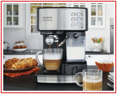 Coffee steam espresso/cappuccino maker was given to me for my birthday and i have enjoyed it so much. Best Mr. Coffee Espresso Machines Review 2021