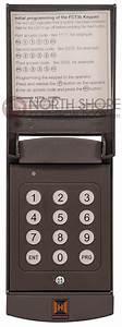 Hormann Garage Door Opener Wireless Keypad Fct3b