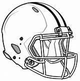 Coloring Football Printable sketch template