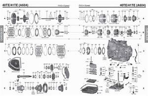 Transmission Repair Manuals A604  40te   41te