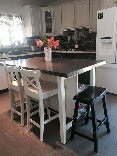 kitchen island ikea ikea stenstorp kitchen island hack here is another view