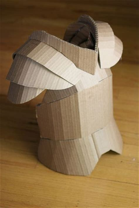 cardboard armor template plates armors and costume on