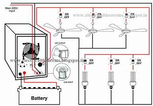 Ups Wiring Diagram For Home
