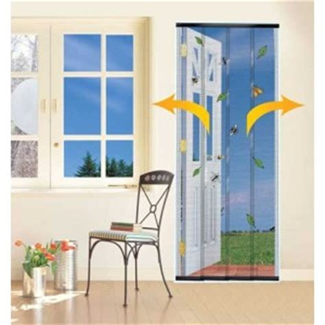 4 walk through fly insect mesh door curtain screen