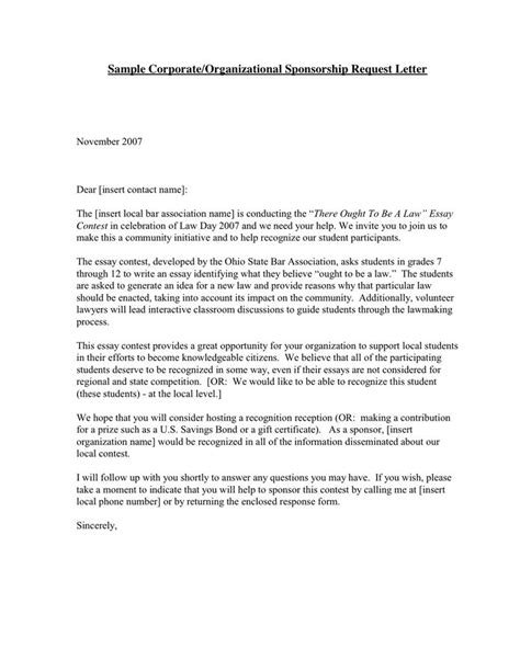 How To Write A Fitness Resume For Sponsorship by 100 Sponsorship Cover Letter Template How To