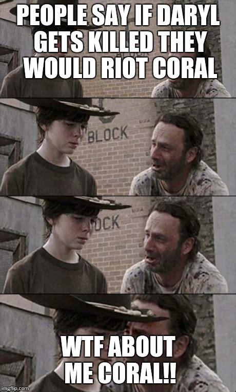 Coral Meme - walking dead memes coral image memes at relatably com