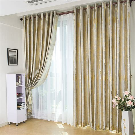 Blackout Thermal Curtain Lining by Modern Floral Living Room Blackout Curtains With Rose Patterns