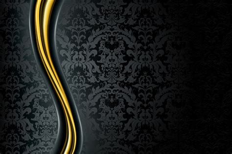 Retro And Luxury Vector Backgrounds Free Vector In
