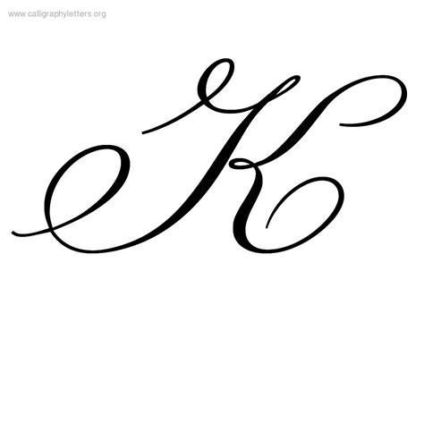 fancy letter k 6 best images of fancy cursive letter k fancy