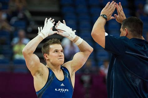 gymnast jonathan horton wows crowd judges  olympics