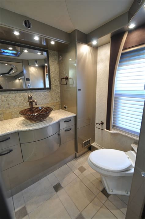 Small Rv With Bathroom by The 15 Most Glamorous Rv Bathrooms On The Planet Rvshare