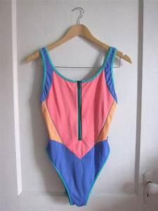 Scuba Cool One Piece Zip-up Swimsuit - Vintage 80s 90s ...