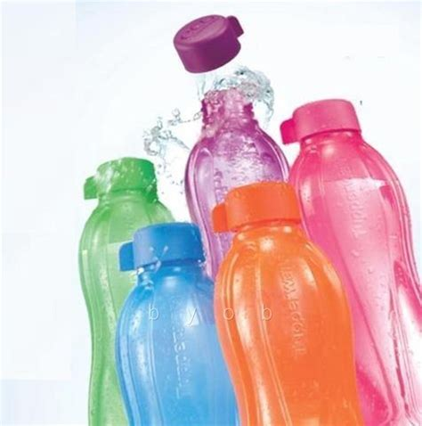 brand new tupperware eco bottle 750 ml tumblers bpa free 5 multi colors
