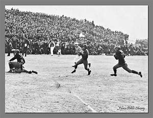 A Thanksgiving Day Football Game Between Manual Training