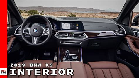 2019 Bmw X5 Interior Youtube