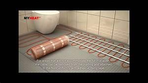 Underfloor Heating Cable Mat Installation  Abridged