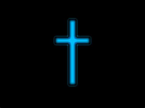 Jesus On The Cross Wallpaper Blue Silver Cross Free Stock Photo Public Domain Pictures