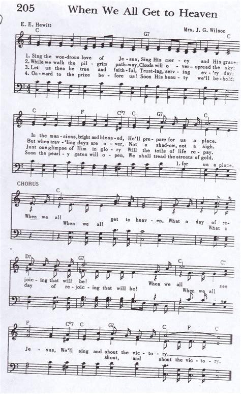 heaven hymn satb heaven song hymn