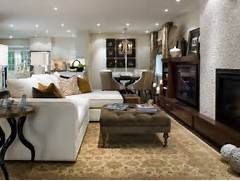 Sectional Living Room Couch Trendy Design Olson Living Room And Dining Room Decorating Ideas And Design HGTV