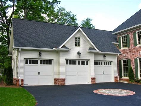 country house plans  detached garage  country