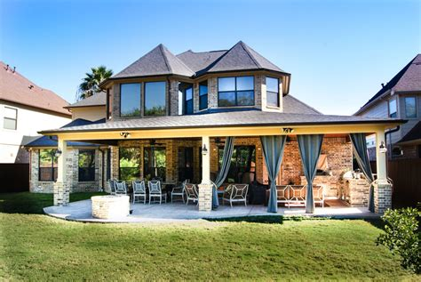 home and patio houston pict patio cover outdoor kitchen and pit royal oaks