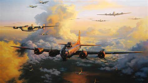 Aircraft Military Bomber World War Ii Wallpaper
