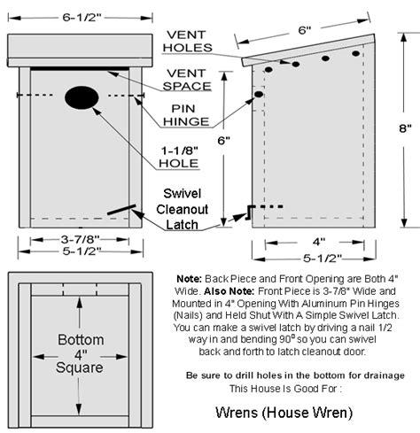 wren house plans bird house plans bluebird house plans bird house kits