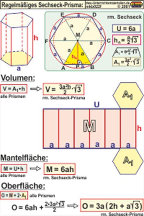 mkb regelmaessiges sechseckprisma