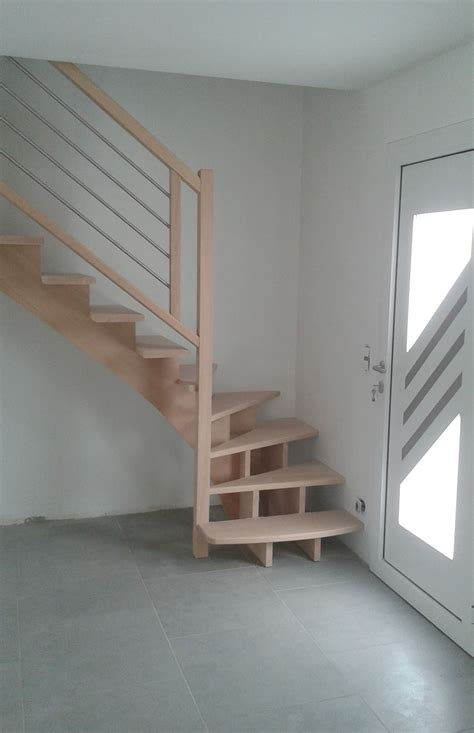 escalier bois et inox escalier bois re bois inox