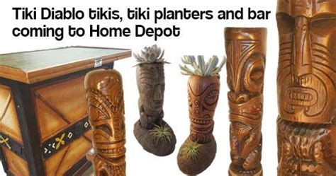 tiki decor  home depot designed  danny gallardo aka