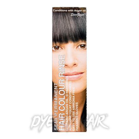 Stargazer Natural Black Semi Permanent Hair Dye Dark Tone