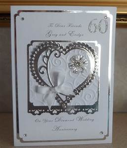 carole39s own diamond wedding anniversary With images of diamond wedding anniversary cards