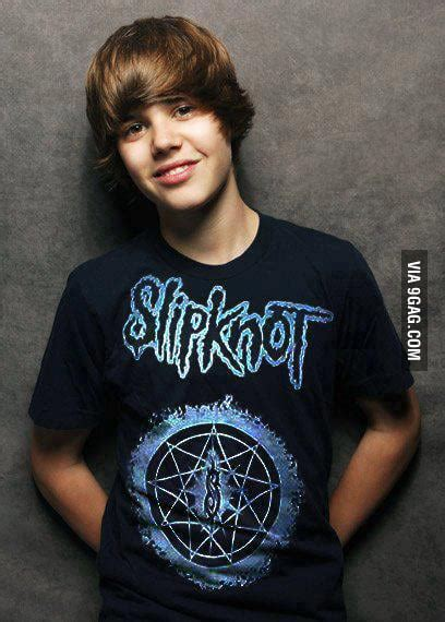 slipknot fans   bieber  dead  gag