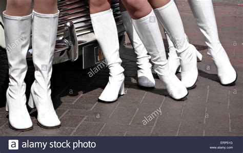where to buy jean skirts 1960 39 s style models in white boots and union mini