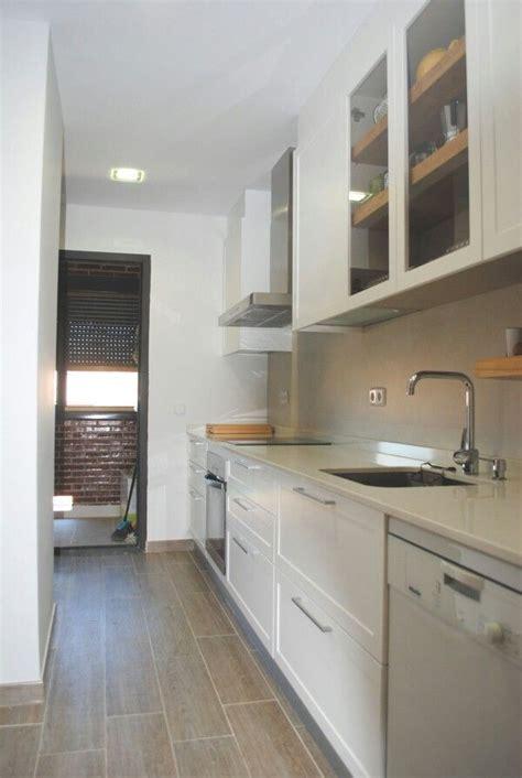 cocina alargada reformas hogar pinterest