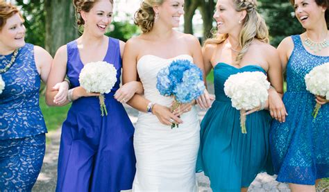 Seven Perfect Blue Wedding Color Ideas And Bridesmaid