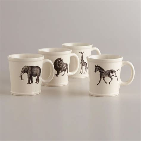 mug animal animal mugs world market products i