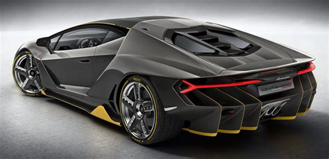 lamborghini centenario debuts  hp rm million
