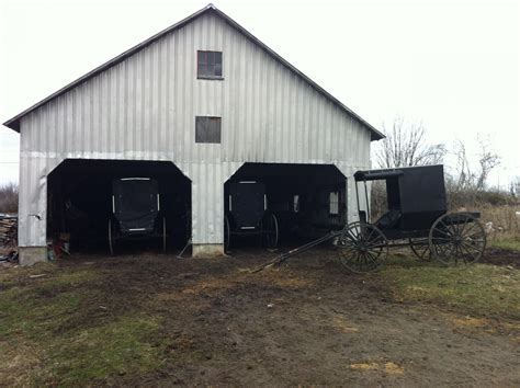 Garage Farm by Amish Dairy Farmers Work With Agri To Get Milk To