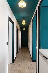 les 25 meilleures idees de la categorie peinture plafond With couleur peinture couloir entree 2 mise en peinture domozoom