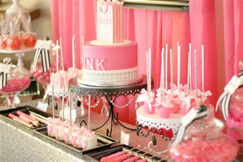 victoria secret pink birthday party ideas photo