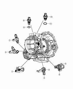 2018 Dodge Journey Sensor  Transmission Range   2 37