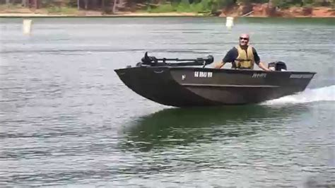 12 Foot Jon Boat Vs 14 Foot by Jon Boat Paired With Mercury 20 Hp Funnydog Tv