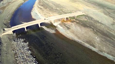 hidden bridge folsom lake aerial youtube
